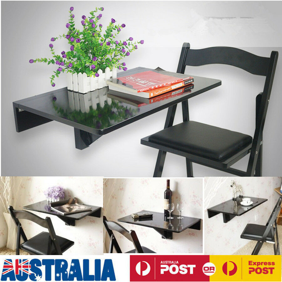 how to make a wall mounted drop leaf table