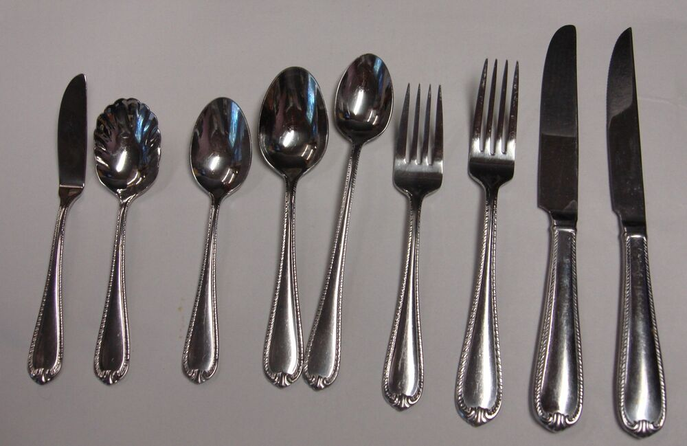 Reed Amp Barton Domain Stainless Flatware Choice Piece