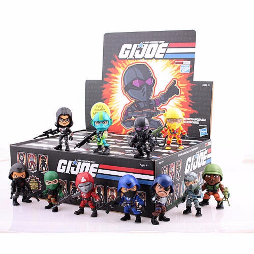 The Loyal Subjects Gi Joe Wave 2 Action Vinyls One Blind