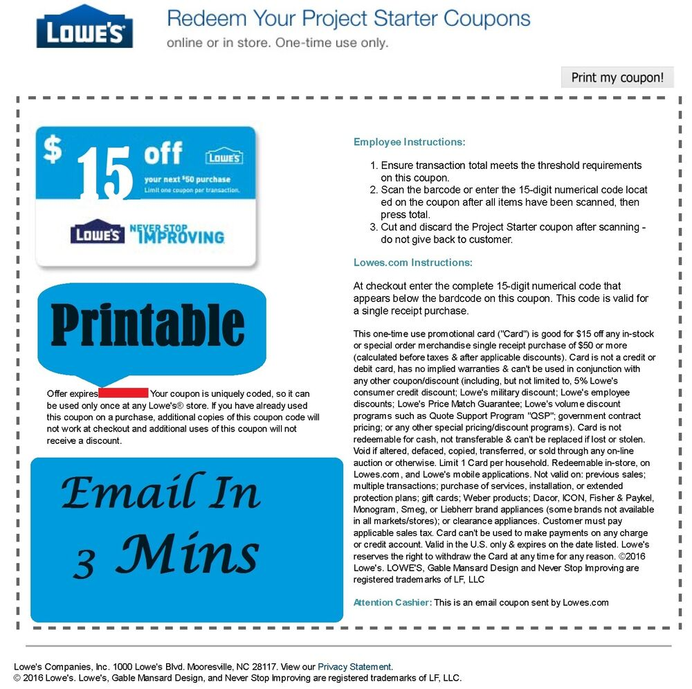 photograph about Lowes Printable Coupons referred to as Lowes coupon codes for sale upon ebay : 6 flags magic mountain