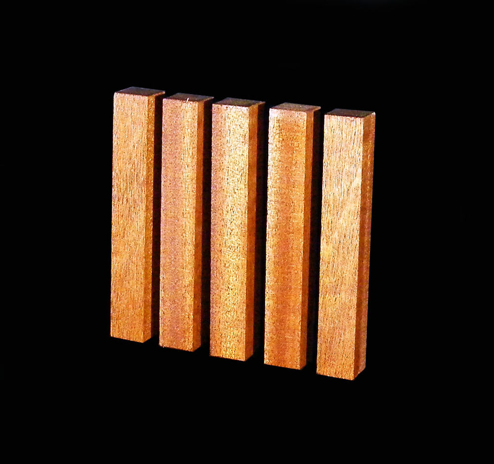 Mahogany pen blanks ¾ x craft turning carving wood