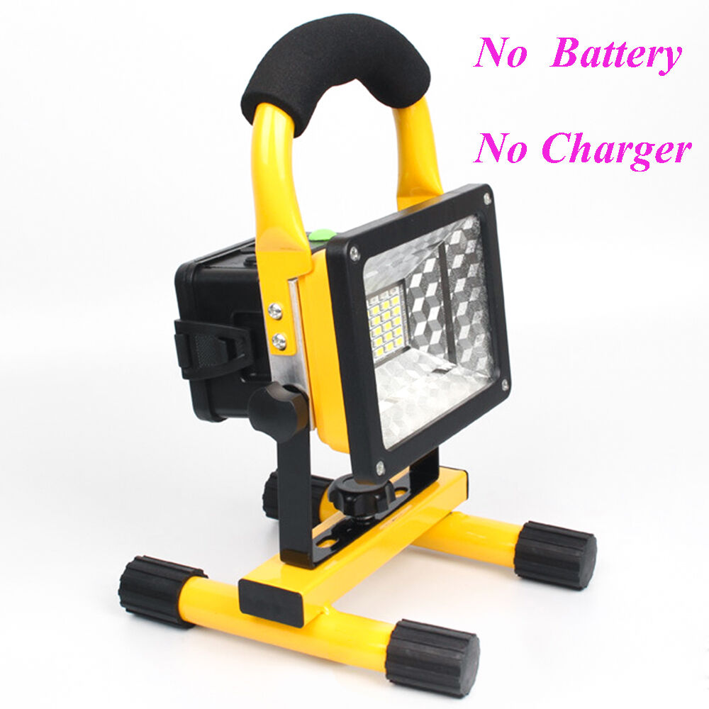 ipx6 portable 30w led flood light outdoor rechargeable spotlight lamp camping us ebay. Black Bedroom Furniture Sets. Home Design Ideas