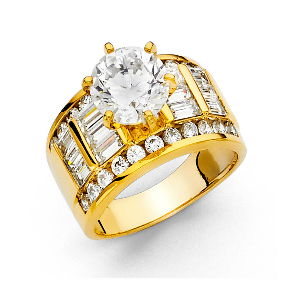 yellow diamond wedding ring 14k yellow gold 3 50 ct engagement ring wedding 1515