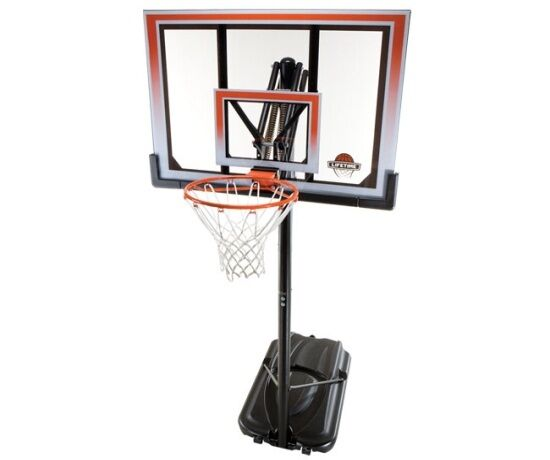 lifetime basketball goal lifetime products 71566 portable basketball hoop system 50 29282