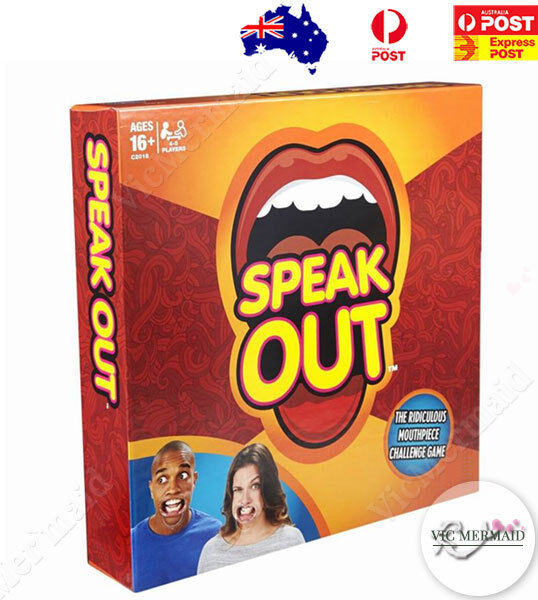 Speak Out Board Game Mouthpiece Challenge Christmas