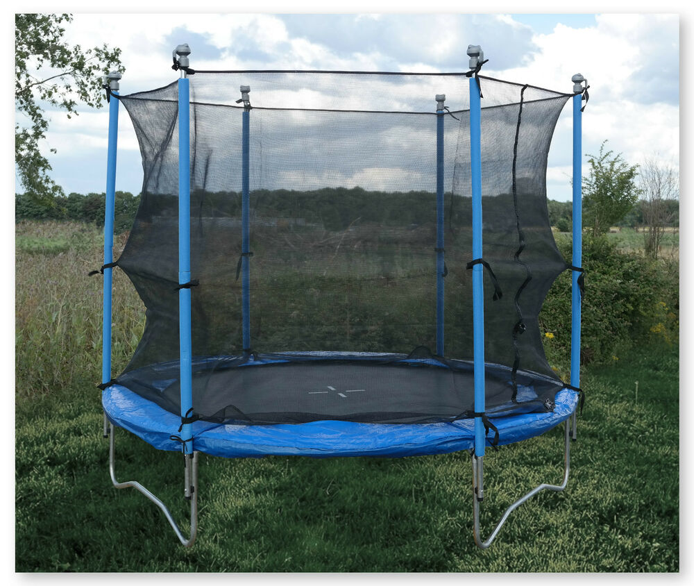 Trampoline Colorado Springs Sale: 8FT Sports Trampoline With Safety Net Enclosure Padded