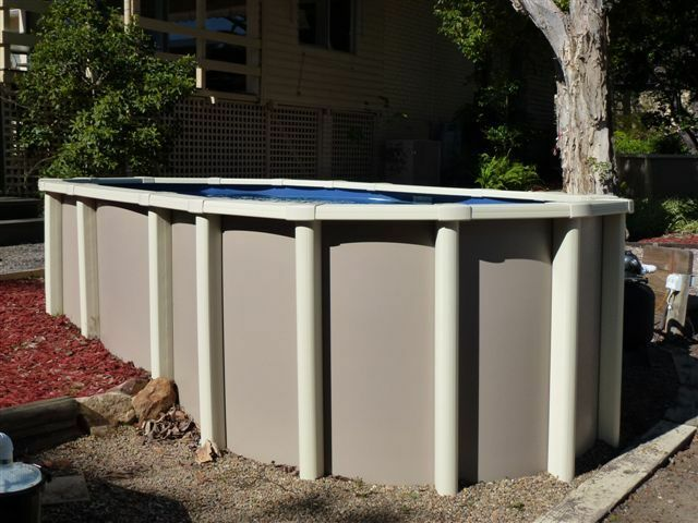 Above Ground Swimming Pool Package Saltwater Free Extras Aust Made Ebay