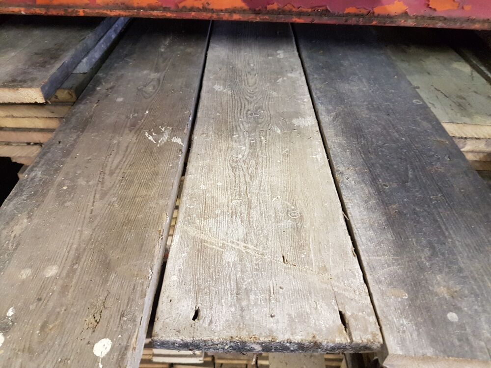 Reclaimed victorian pine straight edge floor boards wooden for Reclaimed decking boards