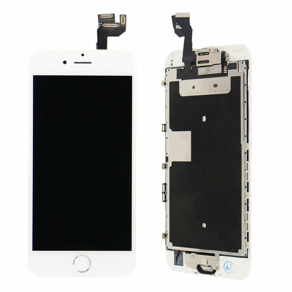 new white full lcd screen display 3d touch digitizer for iphone 6s plus 5 5 6s ebay. Black Bedroom Furniture Sets. Home Design Ideas
