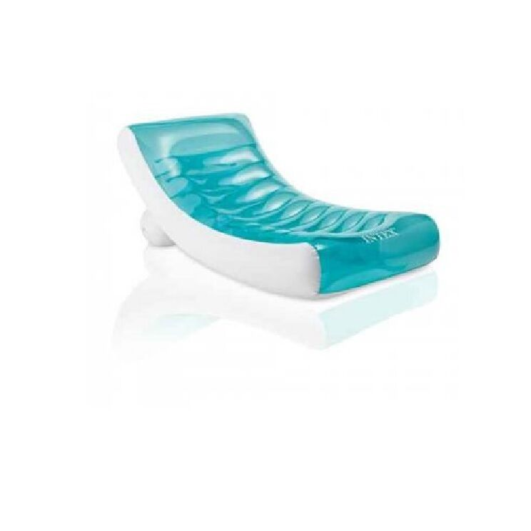"Genuine Intex Pool Lounge Inflatable Swimming Floating Chair ""ROCKIN L"