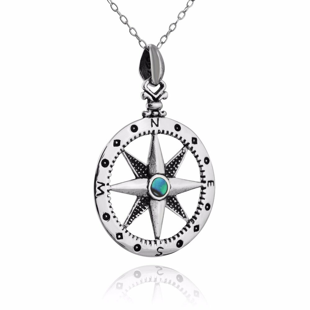 shop silver compass jewellery tilly necklace sveaas