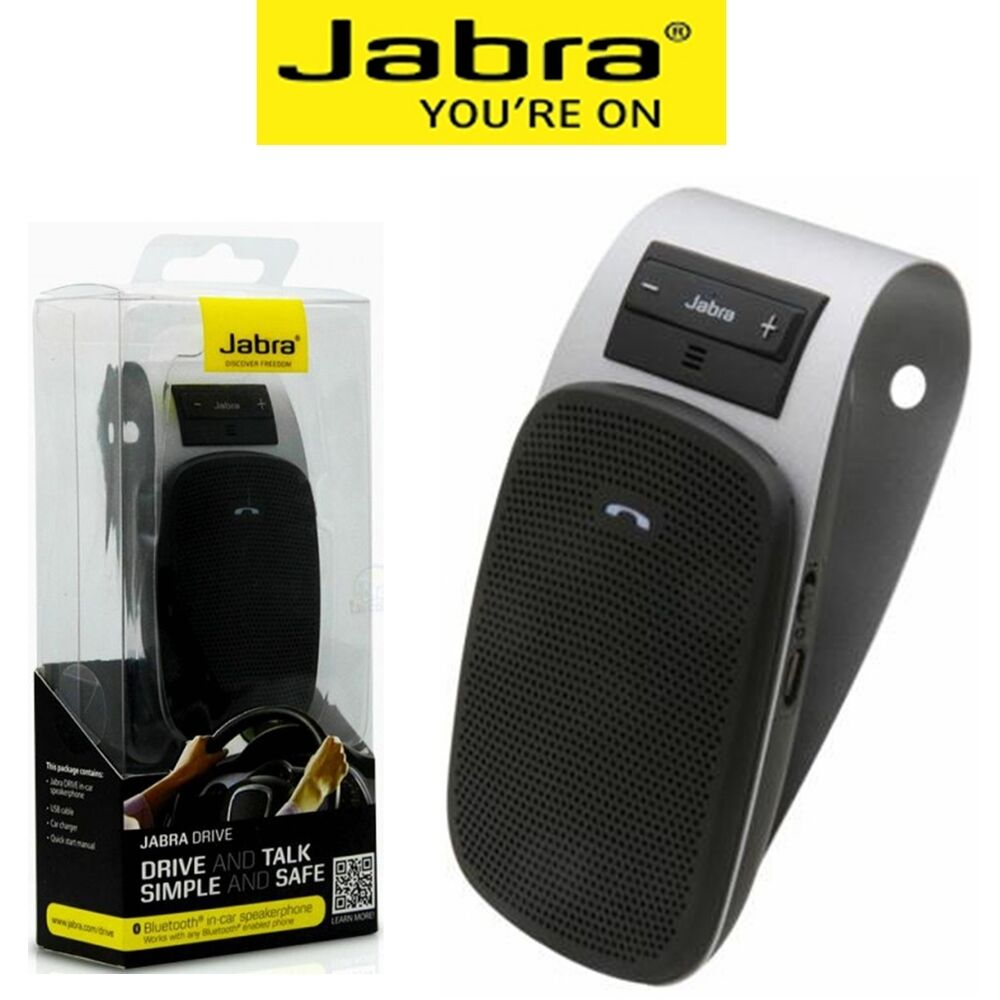 Jabra Drive Bluetooth Car Speakerphone Wireless Handsfree