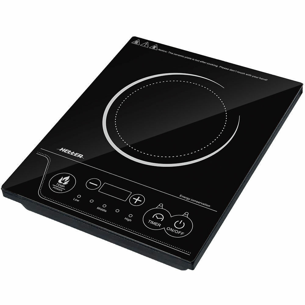 Heller 2000w Electric Single Induction Cooker Hot Plate