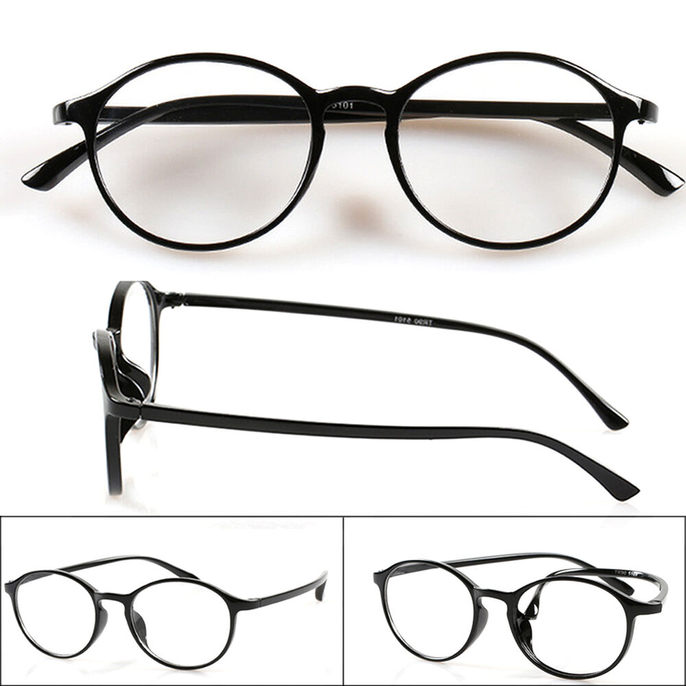 Old Fashioned Glasses Frame : Old-fashioned Retro Round Frame Reading Glasses TR90 ...