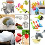 NT Mr.Tea Infuser Loose Tea Leaf Strainer Herbal Spice Silicone Filter Diffuser