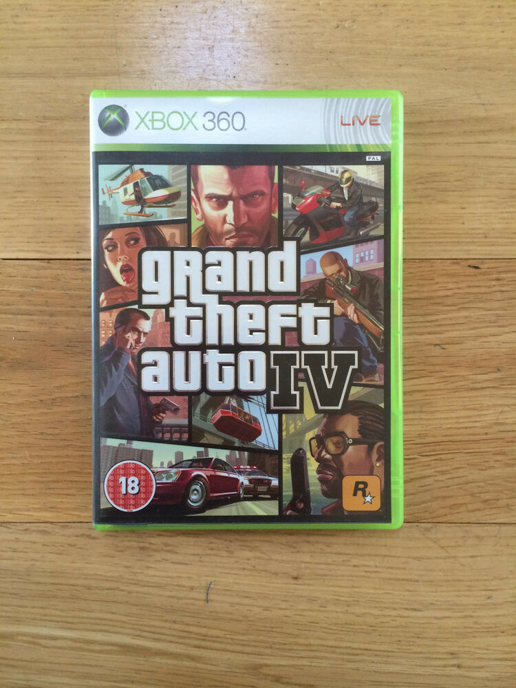 grand theft auto iv gta 4 for xbox 360 no map or manual. Black Bedroom Furniture Sets. Home Design Ideas