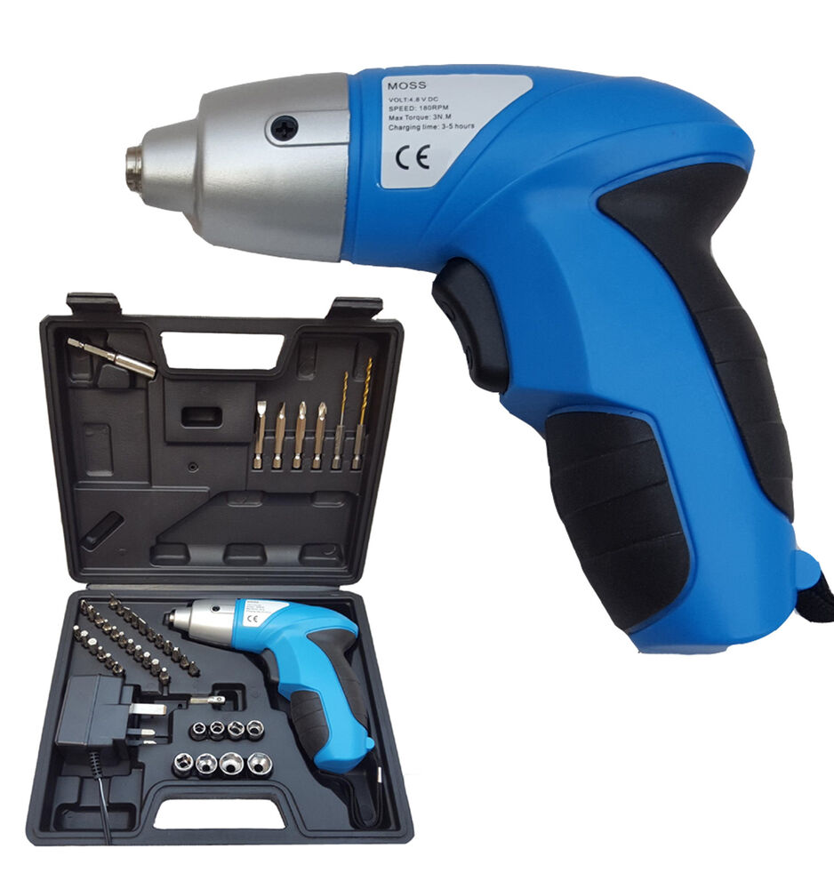 Pro 44pc 4 8v Electric Rechargeable Battery Cordless