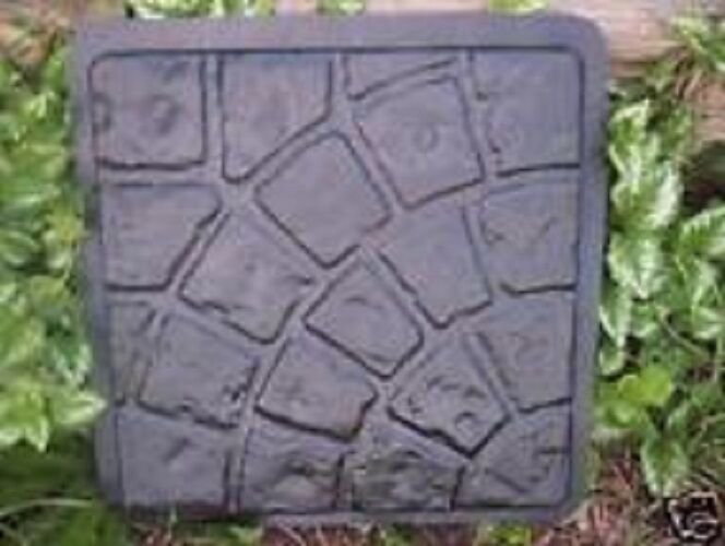 Heavy Duty Driveway Pavers : Concrete abs plastic paver heavy duty molds ebay
