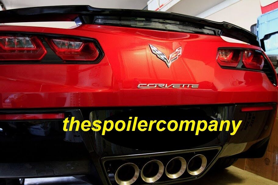 For Chevrolet Corvette C7 Painted Factory High Rise Style