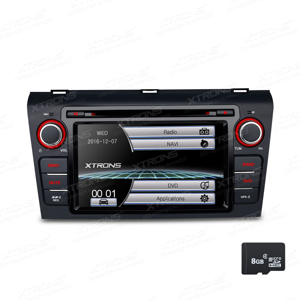 7 in dash car radio dvd cd player gps touch screen bt nav. Black Bedroom Furniture Sets. Home Design Ideas
