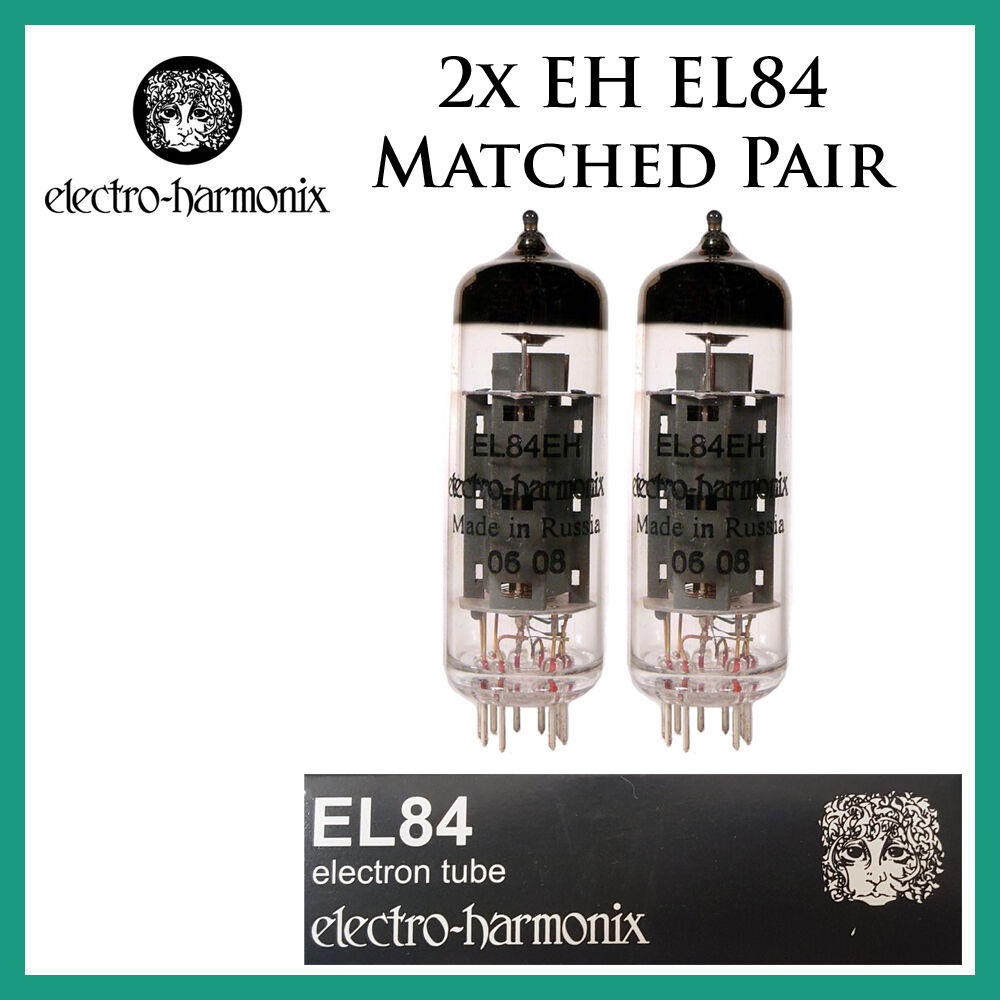 New 2x Electro Harmonix El84 Eh Matched Pair Two Power Tubes Simpletubeamplifiercircuitusingel84ecc82jpg Free Ship Ebay