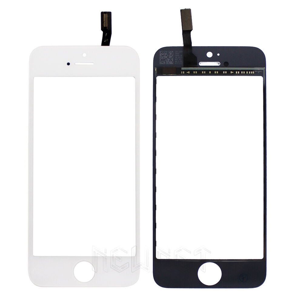 iphone 5s glass replacement touch screen glass digitizer panel replacement for apple 14804