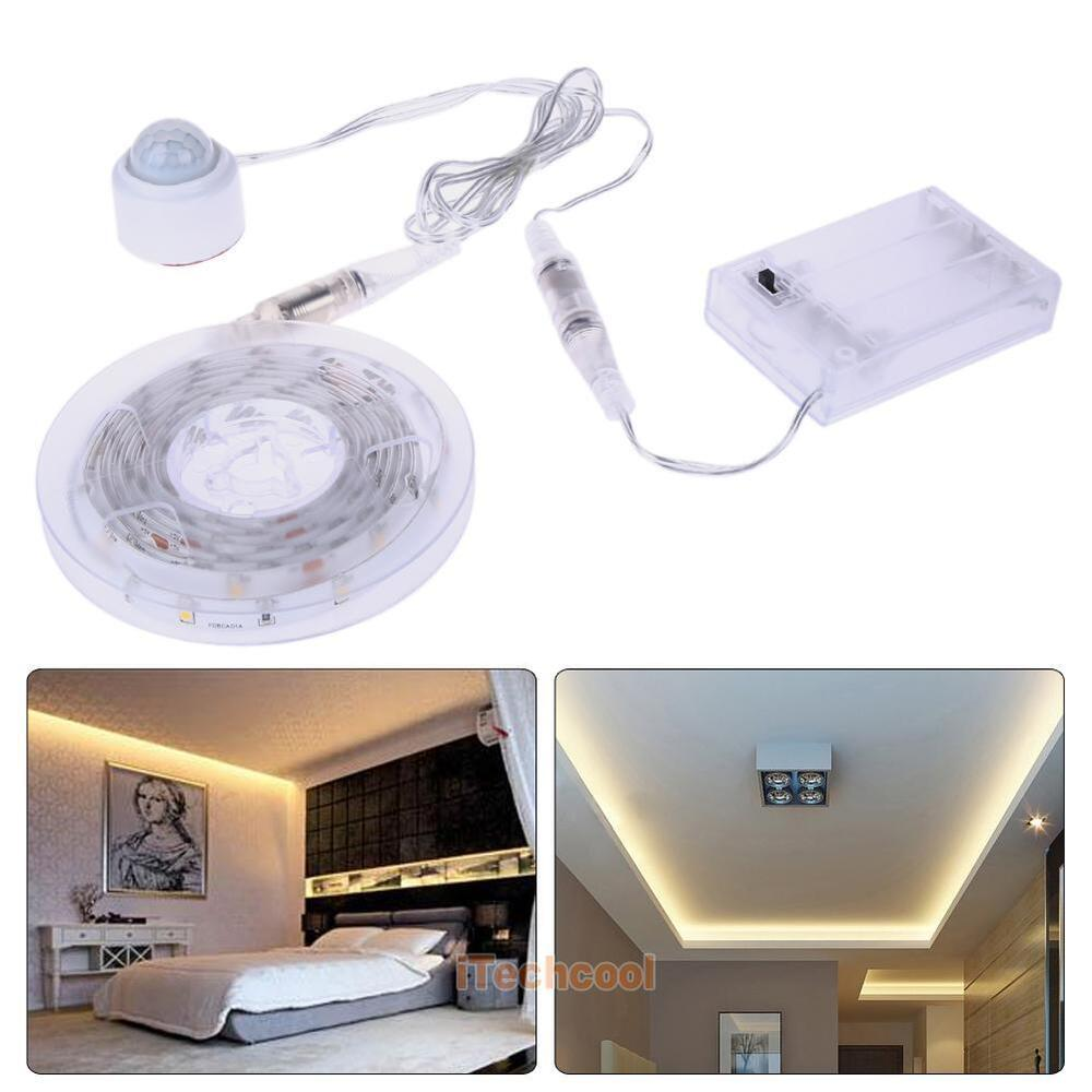 5m 30 led warm white strip light for kitchen unit lights under cabinet cupboard ebay. Black Bedroom Furniture Sets. Home Design Ideas