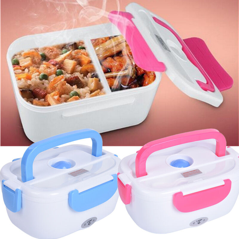 12V Car Heated Lunch Box Car Electric Lunch Container Food