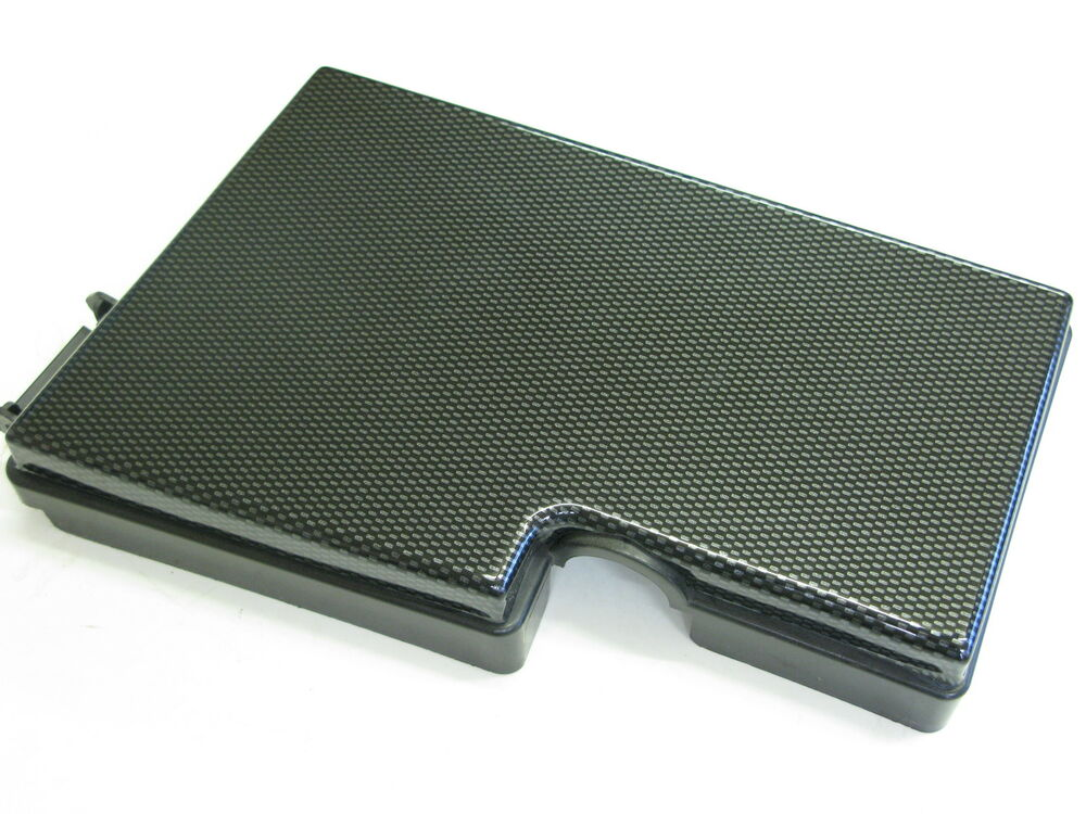 Ford focus fuse box cover carbon fiber abs plastic mk rs