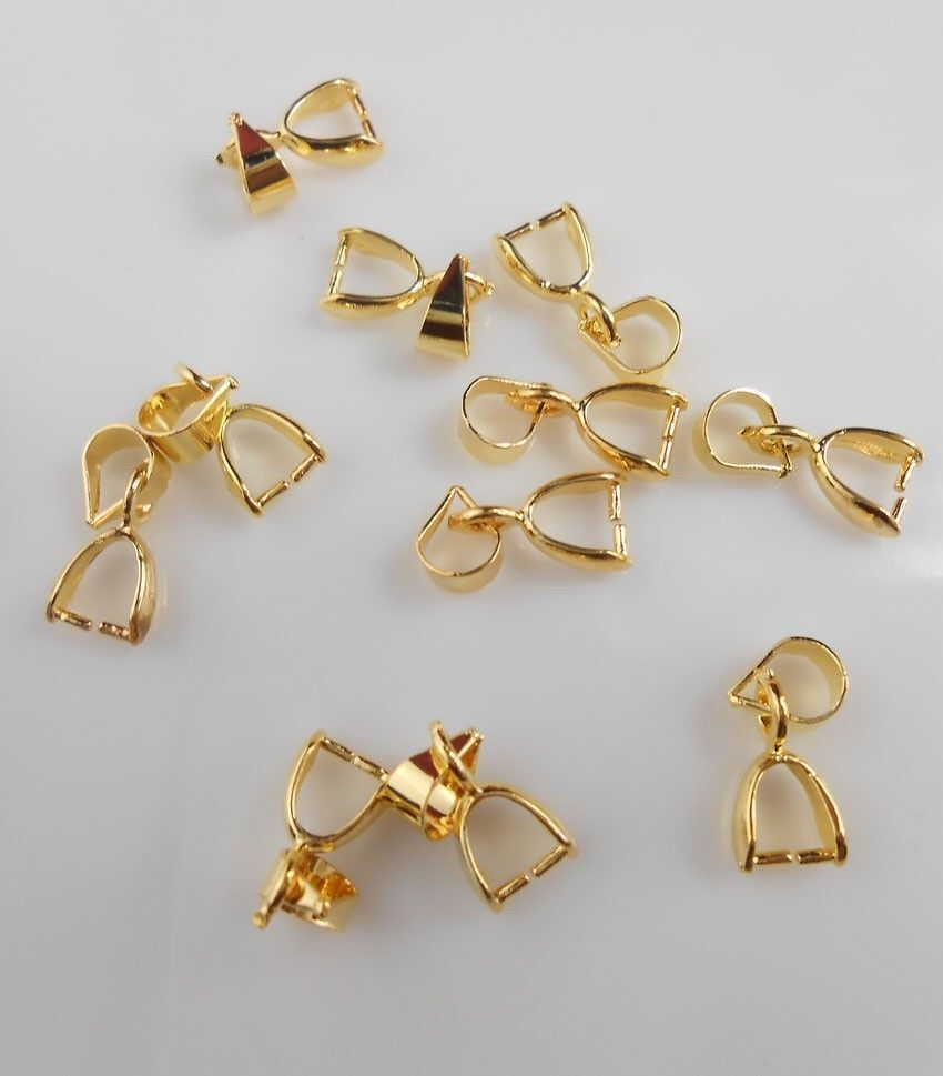 50pcs wholesale new 18k gold pendant jewelry accessories
