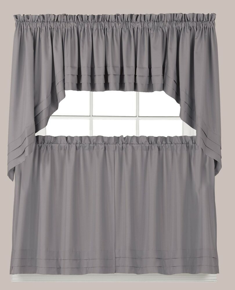 Kitchen Curtains And Valances: Tiers, Swags, Valances