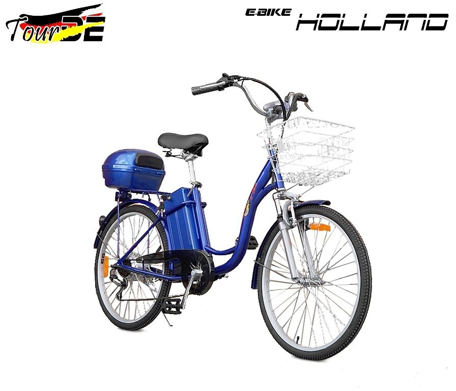 electric bike 250 w holland kraftwele tourde ebay. Black Bedroom Furniture Sets. Home Design Ideas