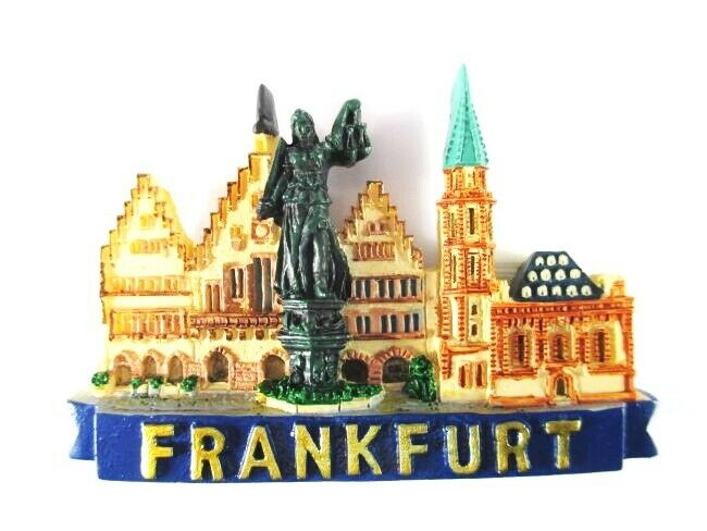 frankfurt r mer paulskirche germany poly magnet souvenir deutschland neu 9008301068508 ebay. Black Bedroom Furniture Sets. Home Design Ideas