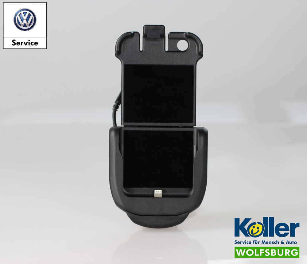 original vw handy adapter apple iphone 6 6s 7 7s. Black Bedroom Furniture Sets. Home Design Ideas