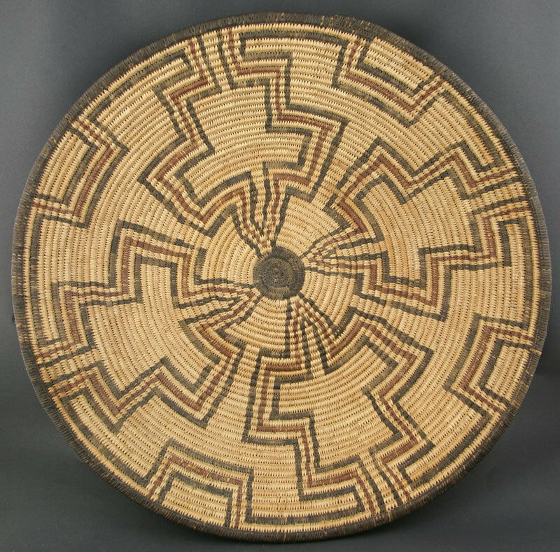 Basket Weaving Origin : C apache basket by inches