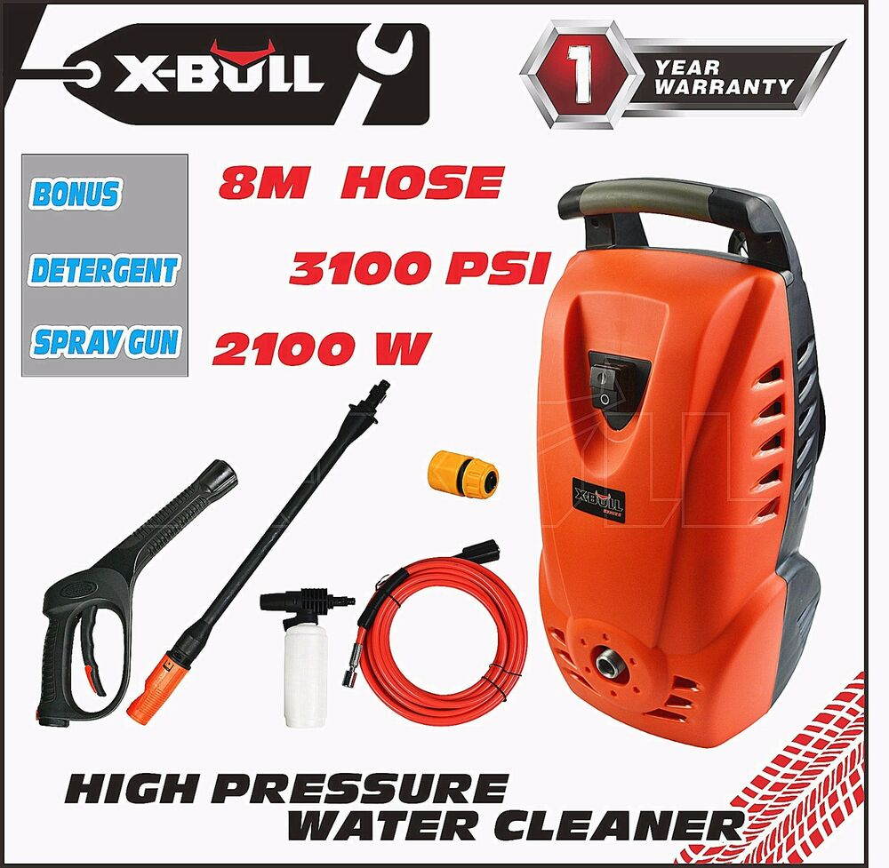 X bull 3100 psi high pressure water washer cleaner for H2o power x