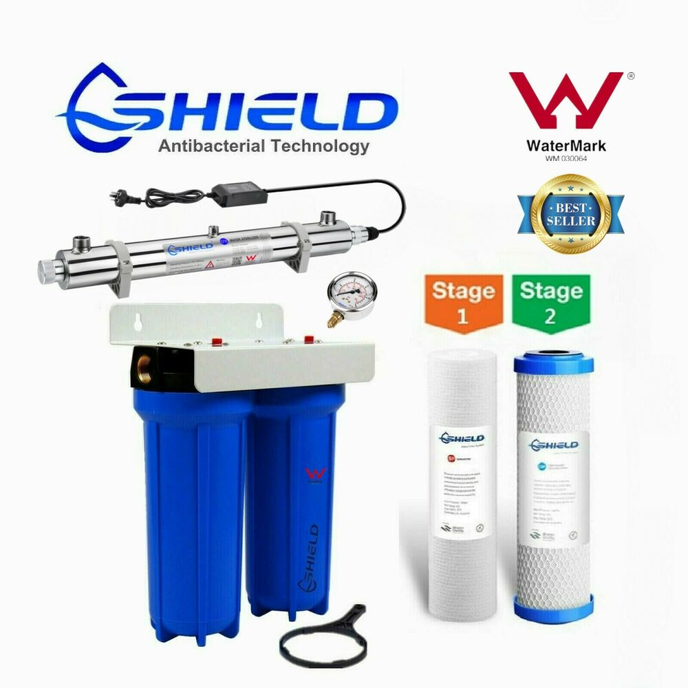 Whole House Water Filter System 10 Quot X 2 5 Quot Ultraviolet Uv
