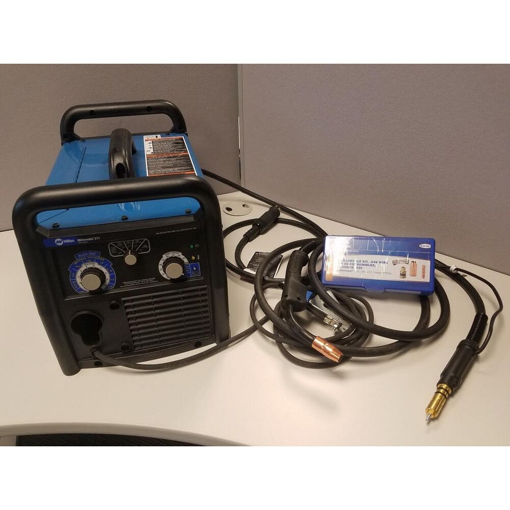 Miller millermatic 211 mig welder with advanced auto set - Webaccess leroymerlin fr ...