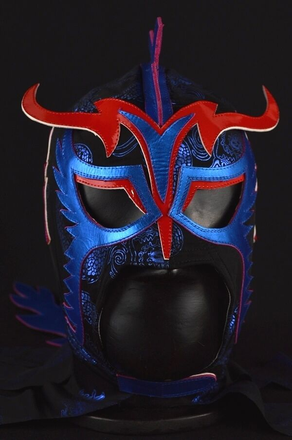 ULTIMO DRAGON Pro Grade Mask Mexican Wrestling Mask Lucha ...