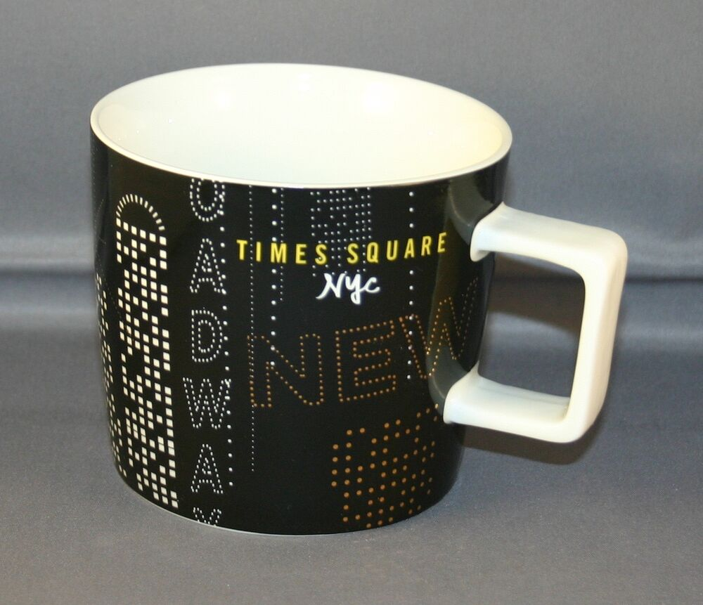 Starbucks New York Times Square Collectors 14 Oz Mug Nwt