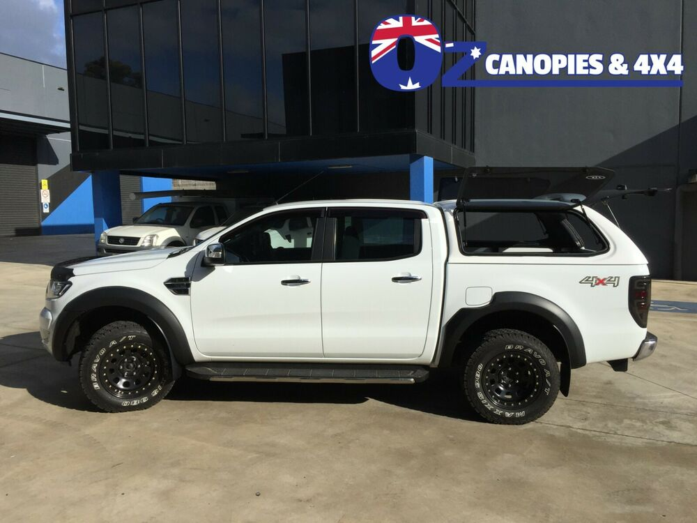 ford ranger wildtrak canopy px xlt mkii xl 2011 2017 dual sliding side windows ebay. Black Bedroom Furniture Sets. Home Design Ideas