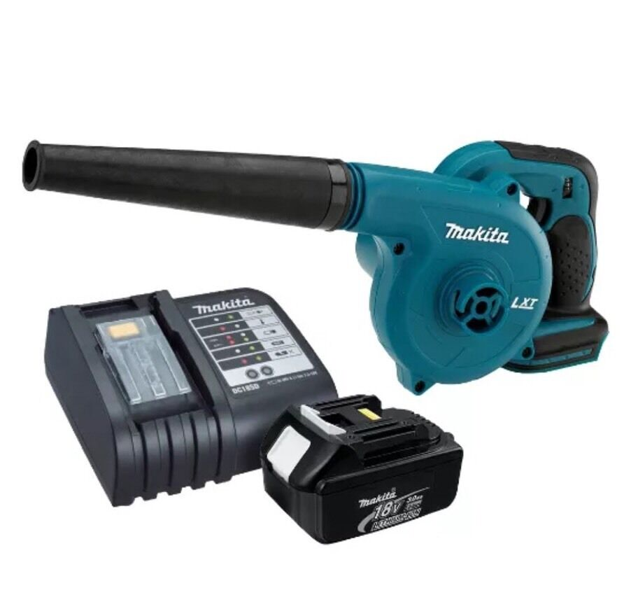 Makita 18v lxt lithium ion cordless blower dub182z charger bl1830 battery ebay - Batterie makita 18v ...