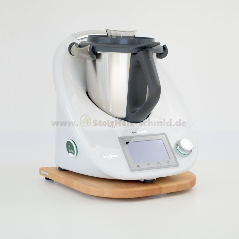 stolzholz gleitbrett thermomix tm5 buche massiv transp ge lt neu mit rechnung ebay. Black Bedroom Furniture Sets. Home Design Ideas