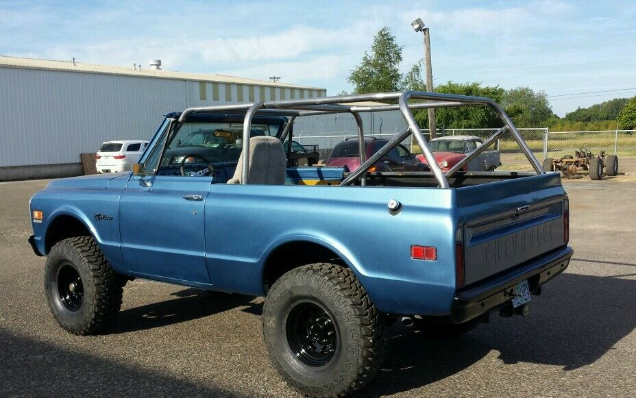 Blazer Jimmy Full Roll Cage 1967 1972 Roll Bar Full Size