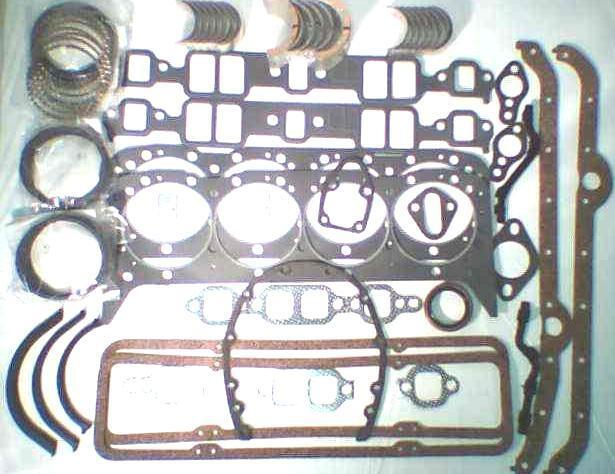 Chevy Rings Bearings And Gaskets
