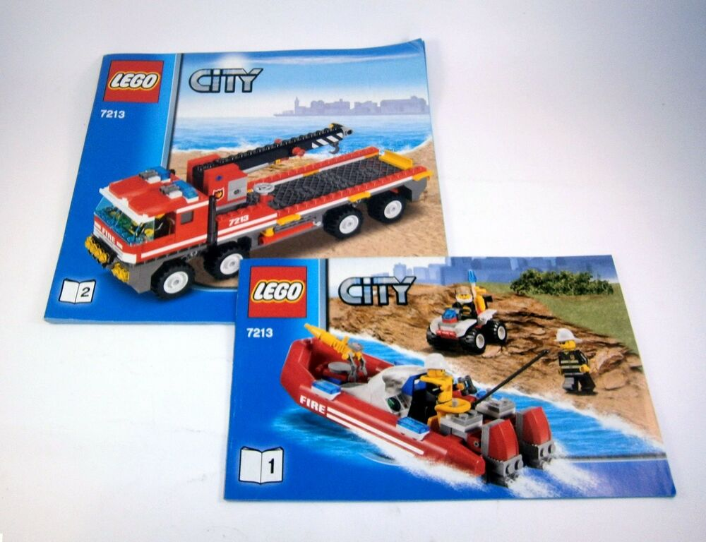 Lego City Fire House Instructions