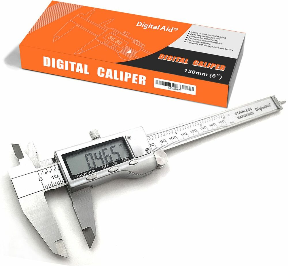 Electronic Measuring Devices Measure : Stainless steel digital caliper measuring device for