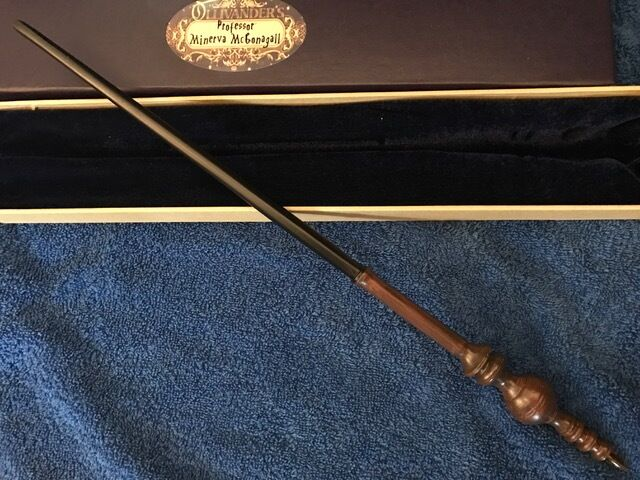 Professor mcgonagall wand 16 harry potter ollivander 39 s for Dumbledore wand wood