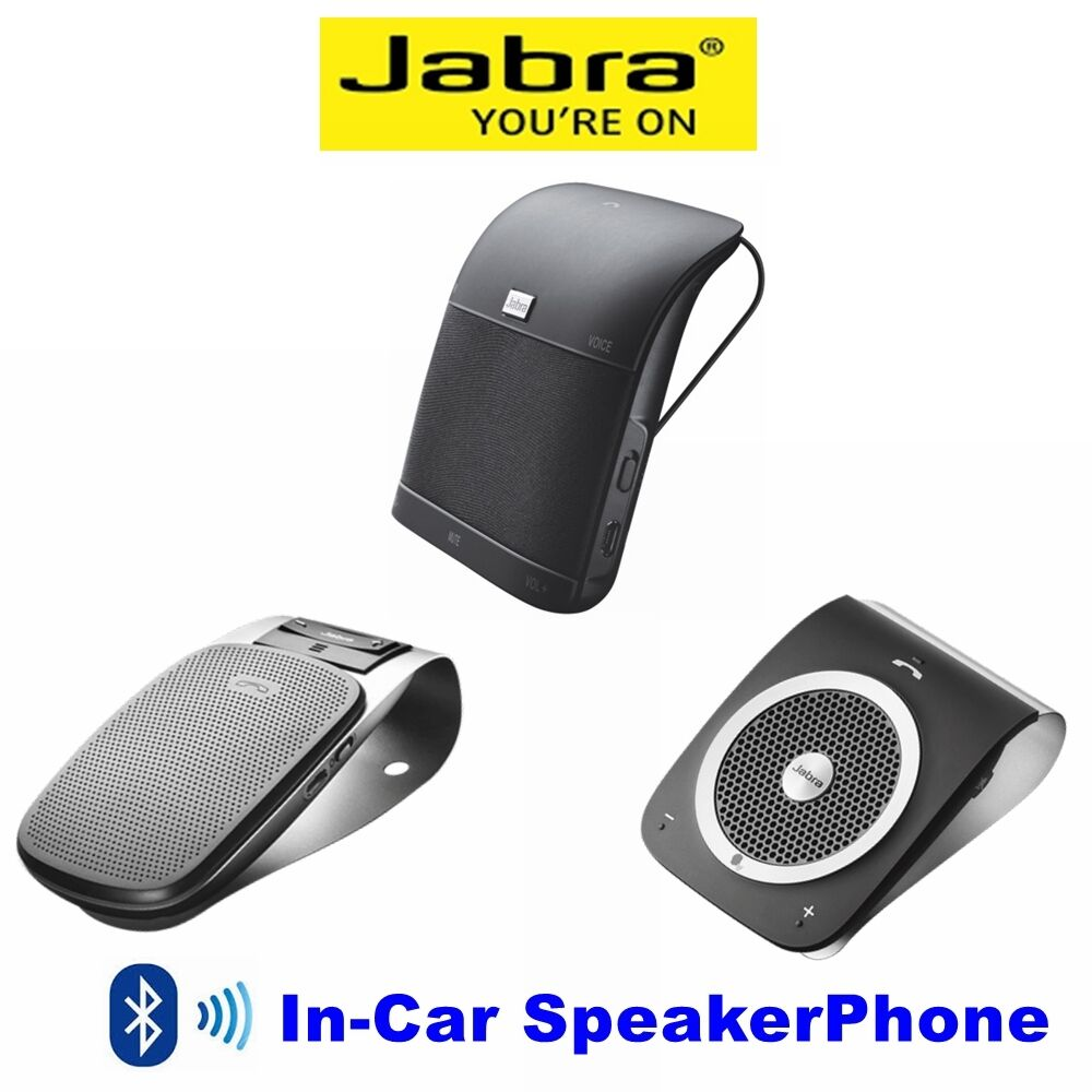 Jabra Drive Bluetooth Car Kit Speakerphone  Hours Of Talk Time
