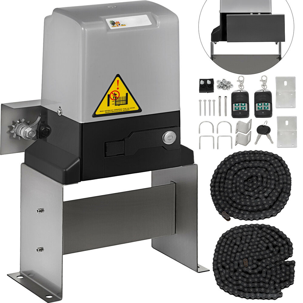 Automatic sliding gate opener door operator rolling